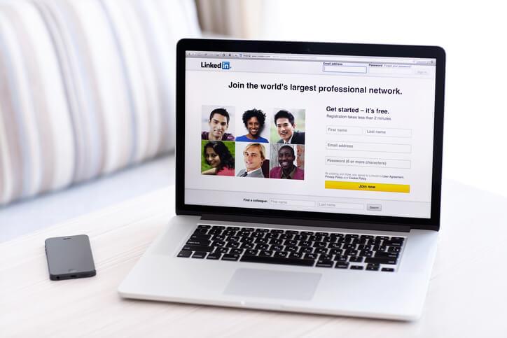 como no utilizar LinkedIn