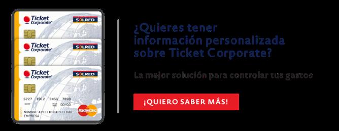 Ticket Corporate contacto comercial