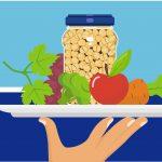 Tres comidas saludables y rápidas con… un bote de garbanzos
